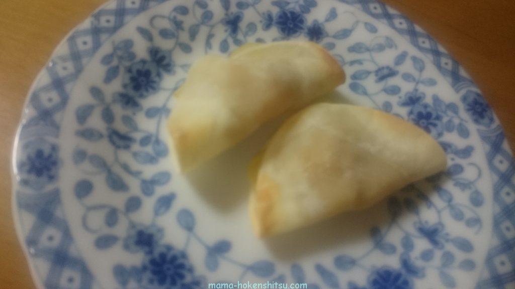 【おやつ】サツマイモとりんごパイ(砂糖無し)